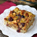 Apple Cranberry Baked French Toast