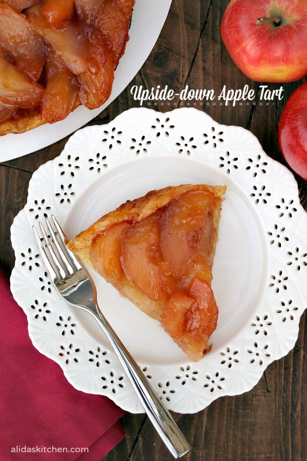 Upside-down Apple Tart | alidaskitchen.com