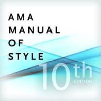 AMA manual of style cite podcasts videos blogs