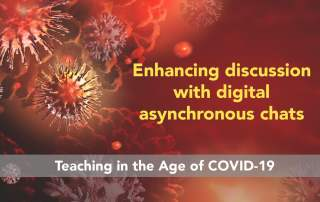 COVID19 asynchronous chats