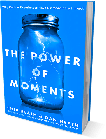 The Power of Moment book for the Leader's Library