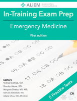 ALiEM in-training exam prep book for emergency medicine