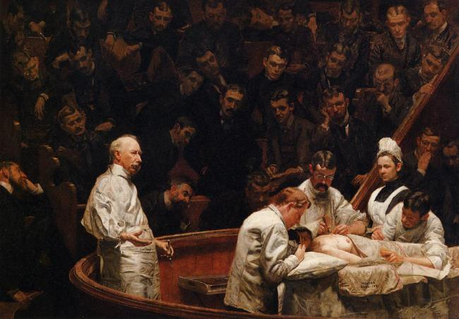 The Agnew Clinic by Thomas Eakins, 1889