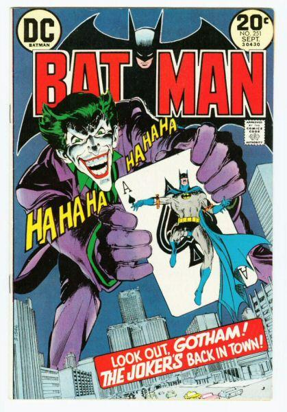 Neal Adams wrote and drew Batman when I was a kid.