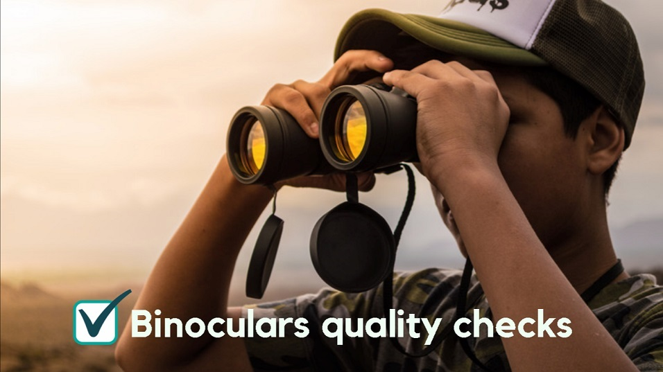 simple steps to test quality of binoculars