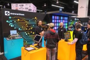 Novation Booth NAMM Show 2018