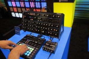 Novation Peak Display NAMM Show 2018