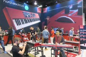 Nord Booth NAMM Show 2018