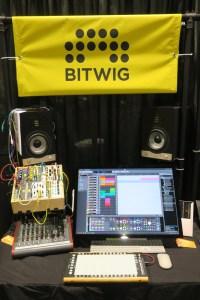 Bitwig Display NAMM Show 2018