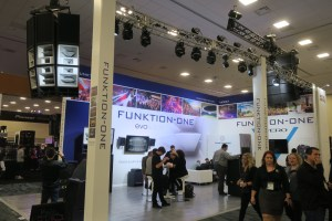 Funktion-One Booth NAMM 2018