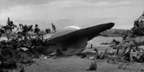Roswell Crash Saucer