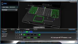 AlienScanner 2 M14x Theme Alienware FX Theme