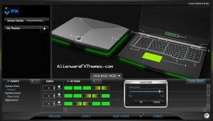 Critical Infected  M18x Alienware FX Theme