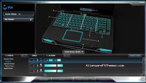 Ice M14x Theme Alienware FX Theme