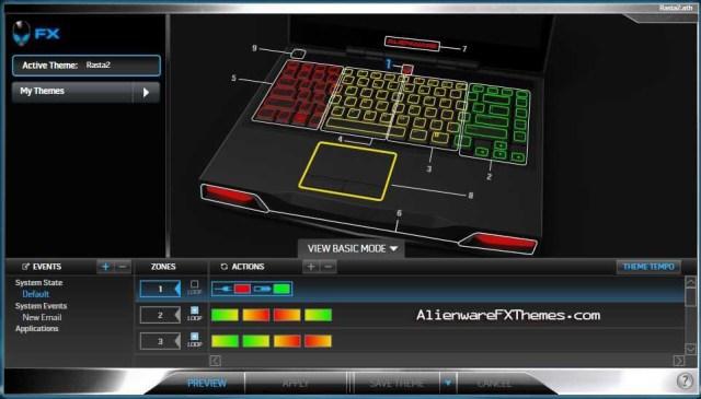 Rasta2 M14x Alienware FX Theme