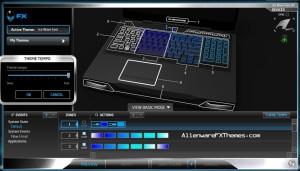 Ice Wave Fast M17x R3 R4 Alienware FX Theme