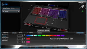 Rainbow M17x R3 R4 Alienware FX Theme 3