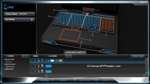 Holland M17x R4 Alienware FX Theme
