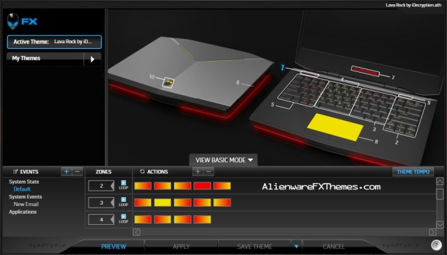 Lava Rock by iDecryption Alienware 14 FX Theme