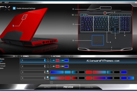 Darkness Theme By Ivory Soul Alienware M17x R2 Fx Theme