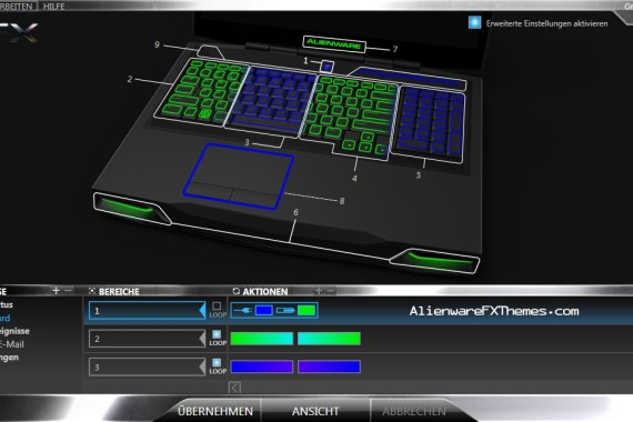 Green Pond By iEdgy Alienware M17x R3 Fx Theme