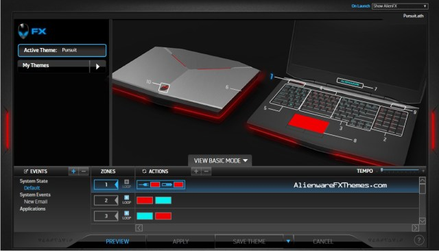 Pursuit By Brandon Alienware 17 Theme