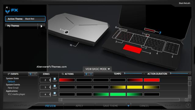 Colour Flow Rygb By Austin Alienware 17 R2 2015 Fx Theme