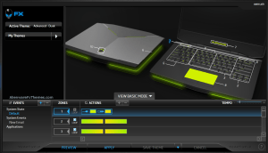 xWire by Andres Alienware 14 Fx Theme