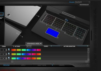Morphing Rainbow by Eleanor Alienware 17 R4 FX Theme