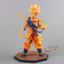 figura goku super guerrero dragon ball z