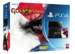 Playstation 4 + God Of War 3