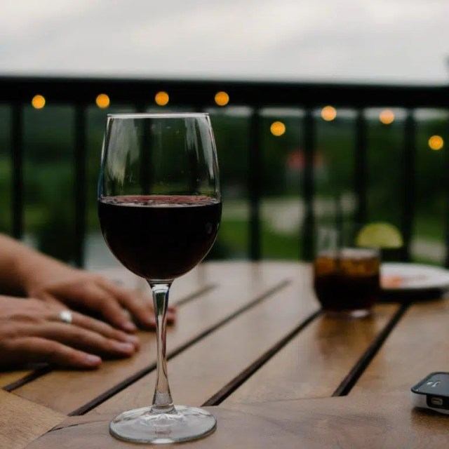 breaking up with wine