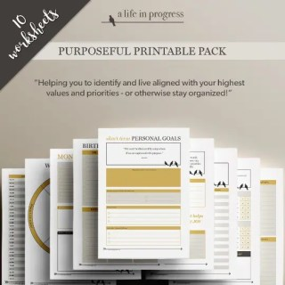 shop purposeful printable pack