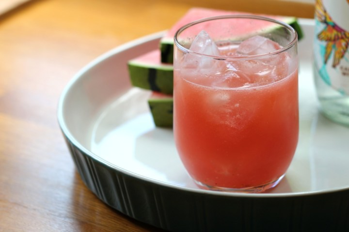 watermelon aguafresca