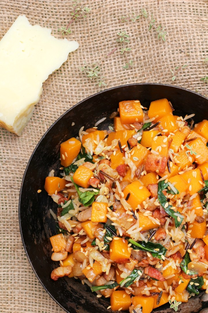 simple butternut squash meal2