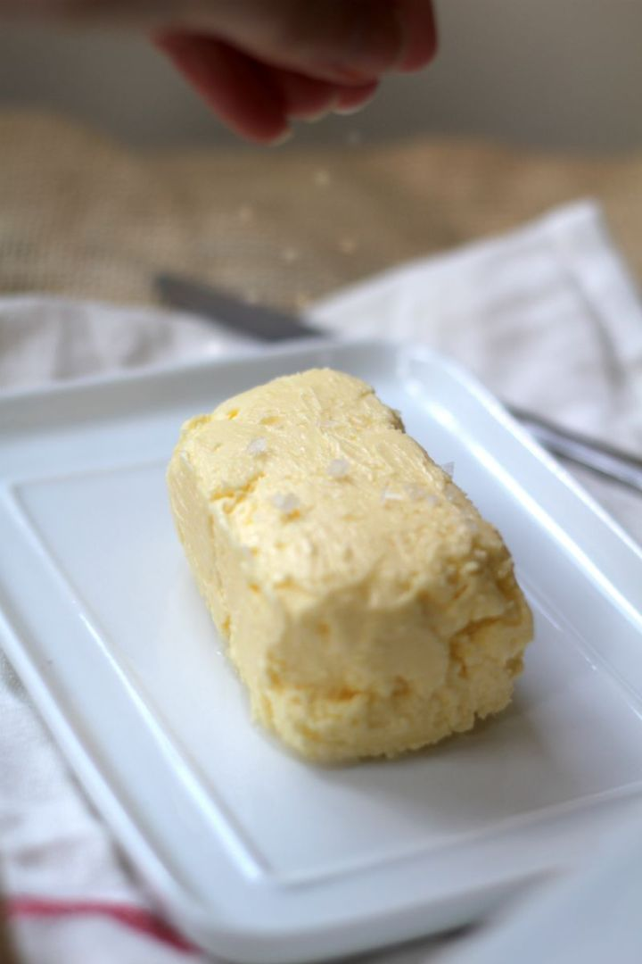 salted butter homemade