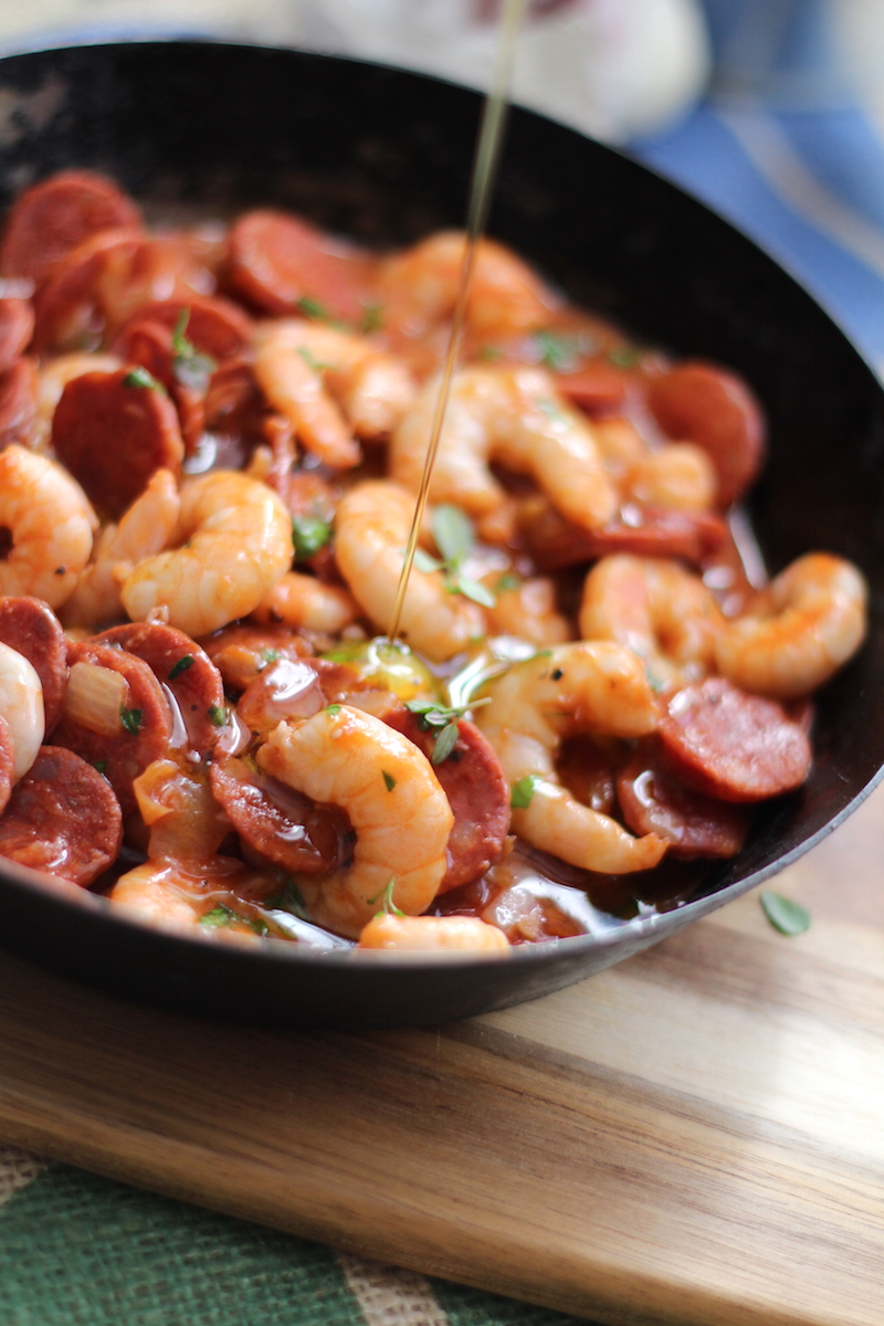 King prawn and chorizo. my favourite tapas dish | www.alifeofgeekery.co.uk