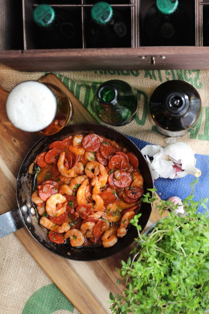 King Prawn and Chorizo