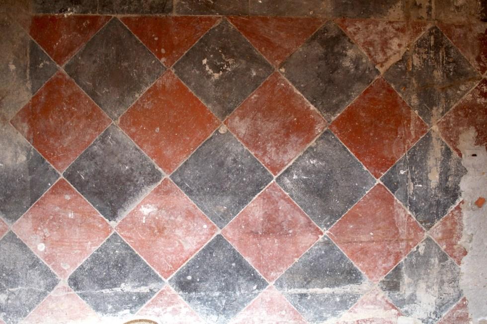 original victorian tiles