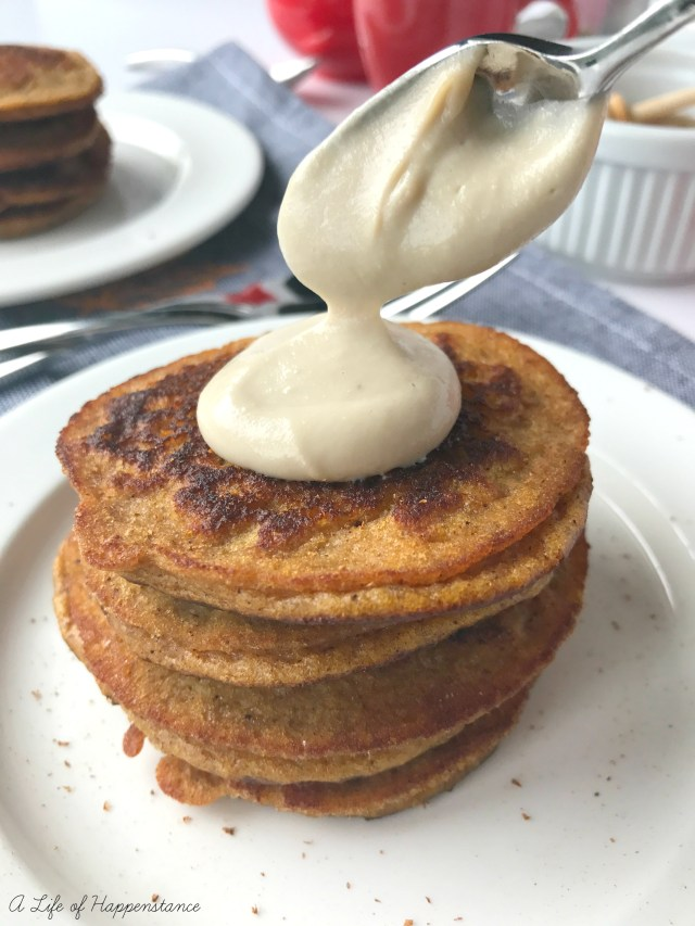 A delectable and healthy pancake bursting with fall flavor! These pancakes are grain free, gluten free, refined sugar free and dairy free. Paleo and SCD.