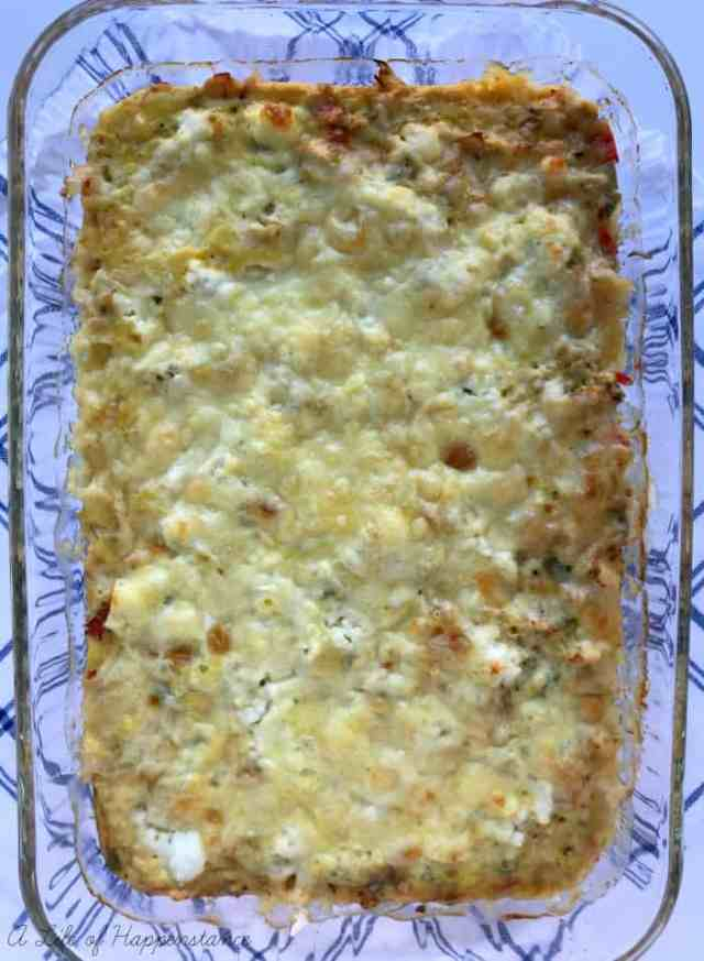 A delicious and easy make ahead breakfast casserole that's perfect for Christmas morning or Easter brunch. It's gluten free, grain free and follows SCD.