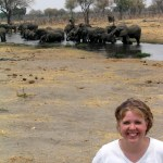 Elephants are a big thing in Botswana!!!