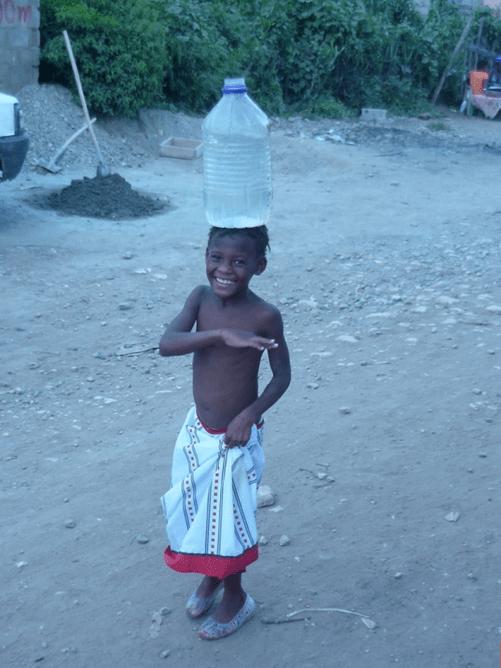 Tamara White Carrying Water