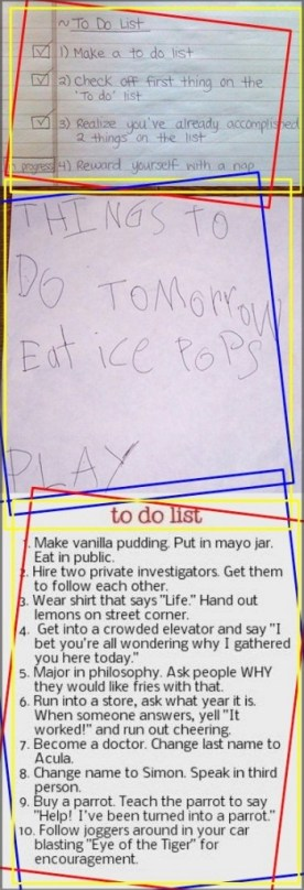 To Do List Compilation