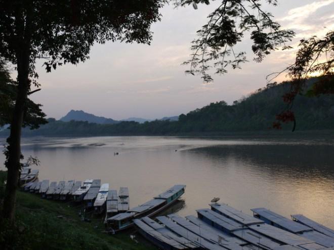 Boats on Mekong