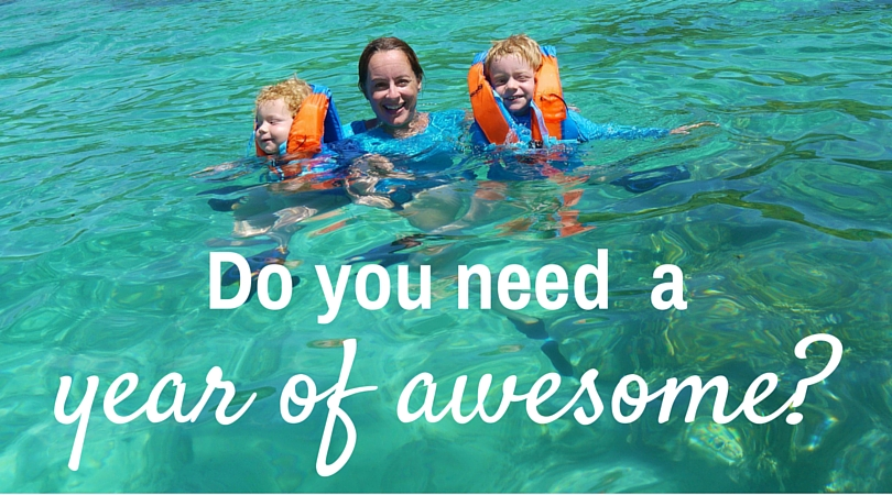 """Do you need """"A Year Of Awesome""""?"""