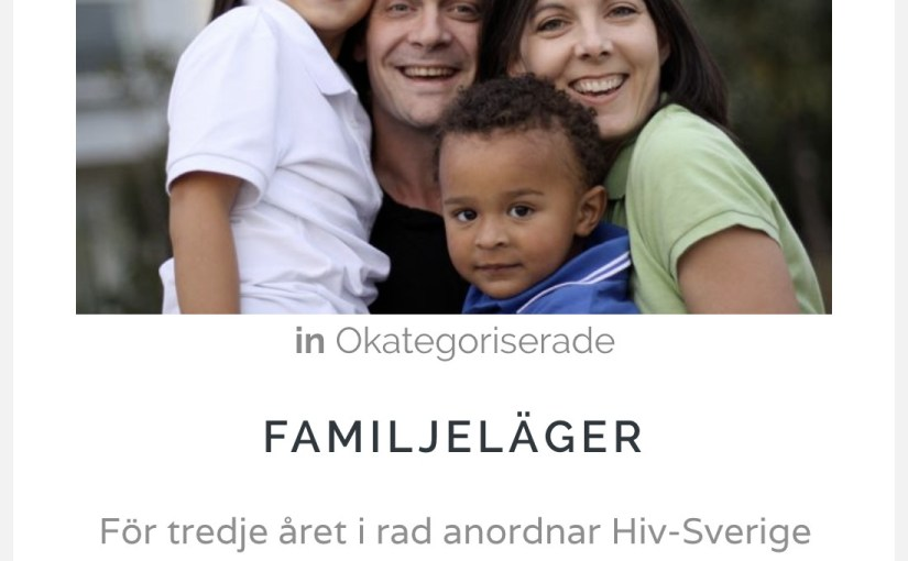 How I Became the Poster Child for Swedish Families Living with HIV — And Why You Should Rethink Your Selfies