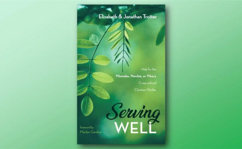 A Book is Born: Serving Well is now available!