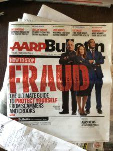 AARP Magazine Retirement Don't worry