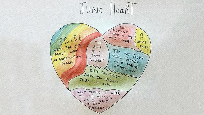 man andrew june heart
